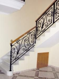 Mesas con pie de hierro hornamental buscar con google escaleras pinterest - Barandas de forja para escaleras ...