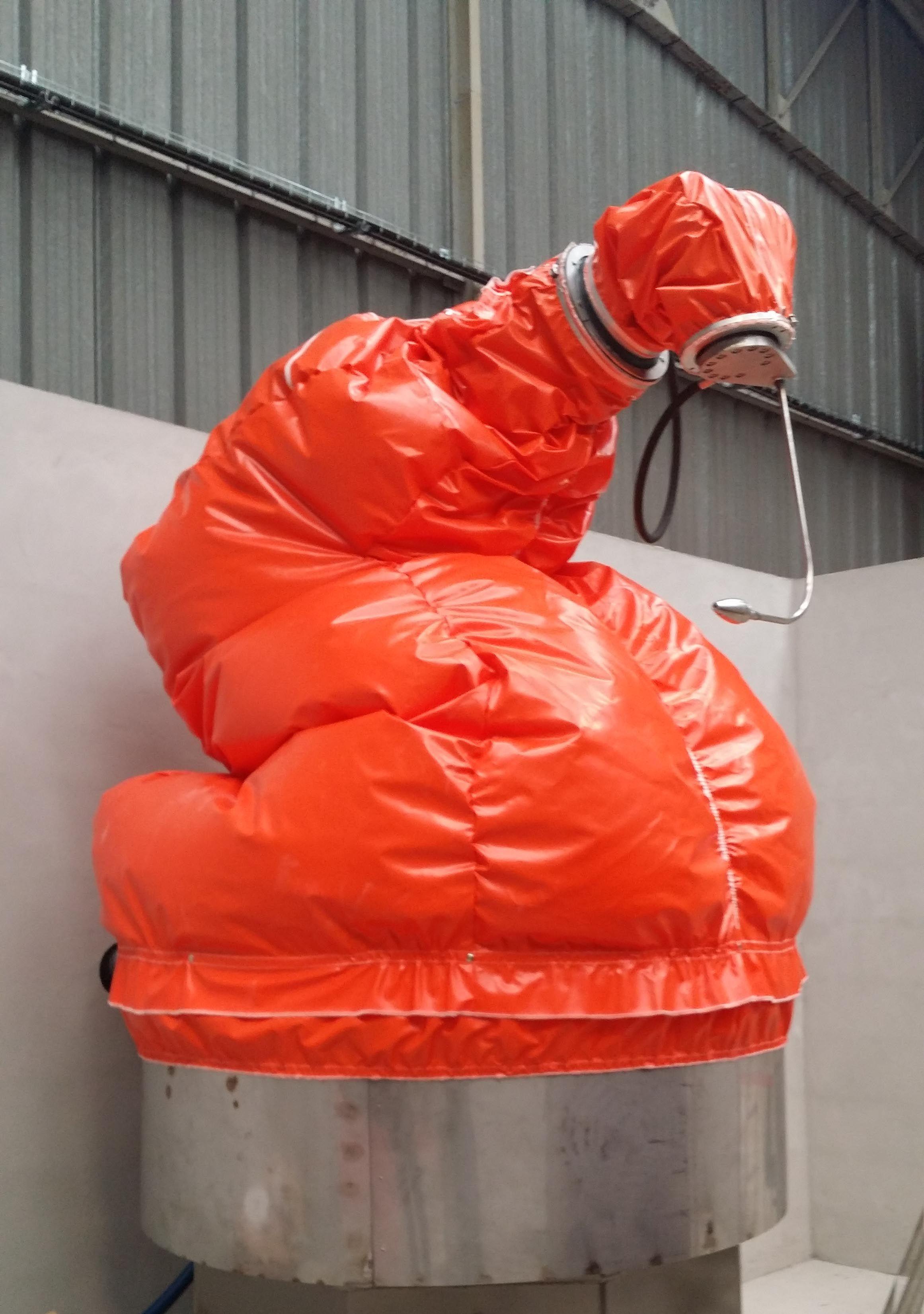 Cubierta fundas protectora para laa kuka robot 150 impermeable y ventilada hdpr