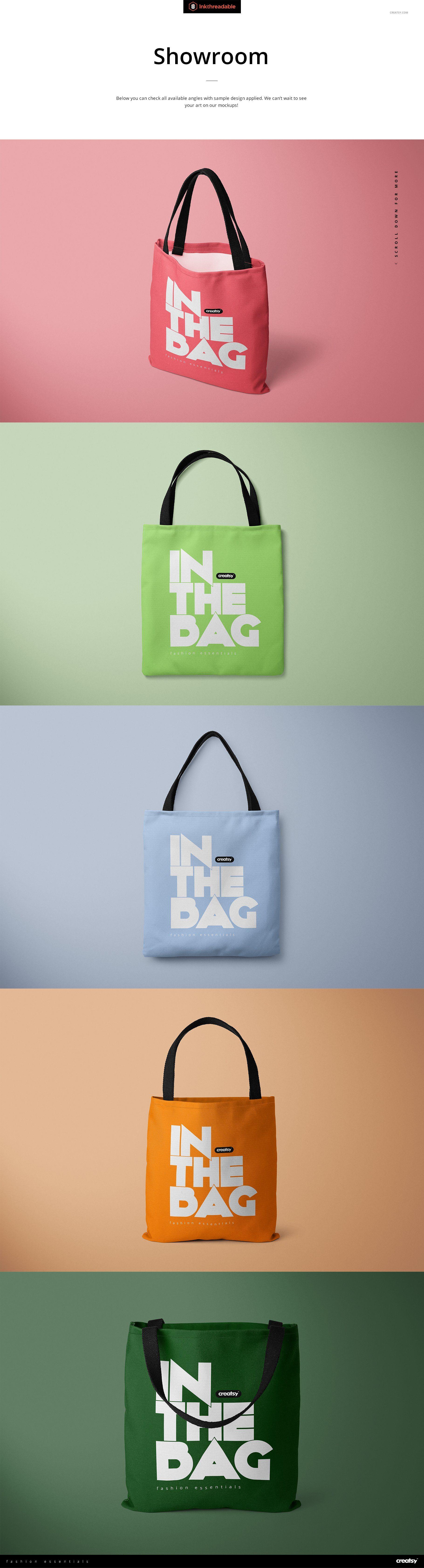 Download Polyester Tote Bag Mockup Set Bag Mockup Bags Tote Bag
