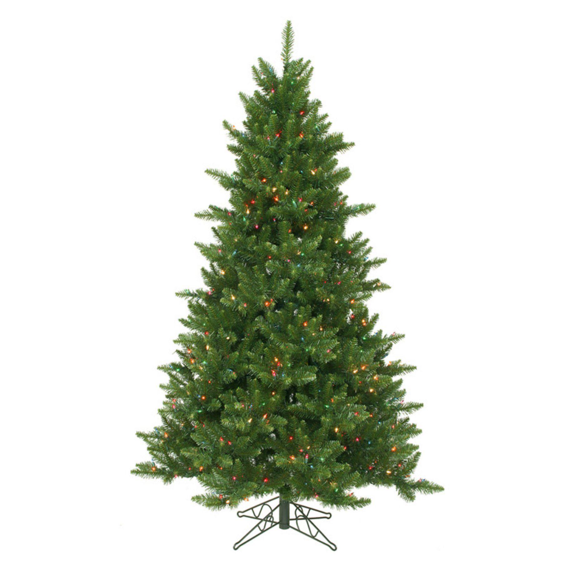Vickerman 5.5 ft. Camdon Fir Pre-lit Christmas Tree - A860957LED ...