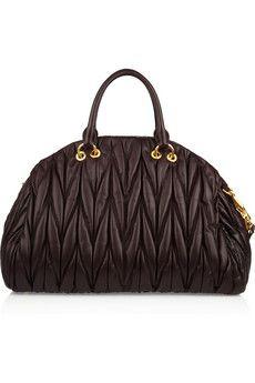 Miu Miu Matelasse Leather Tote   Handbags   Pinterest   Bolsas and ... 8945aa69ae