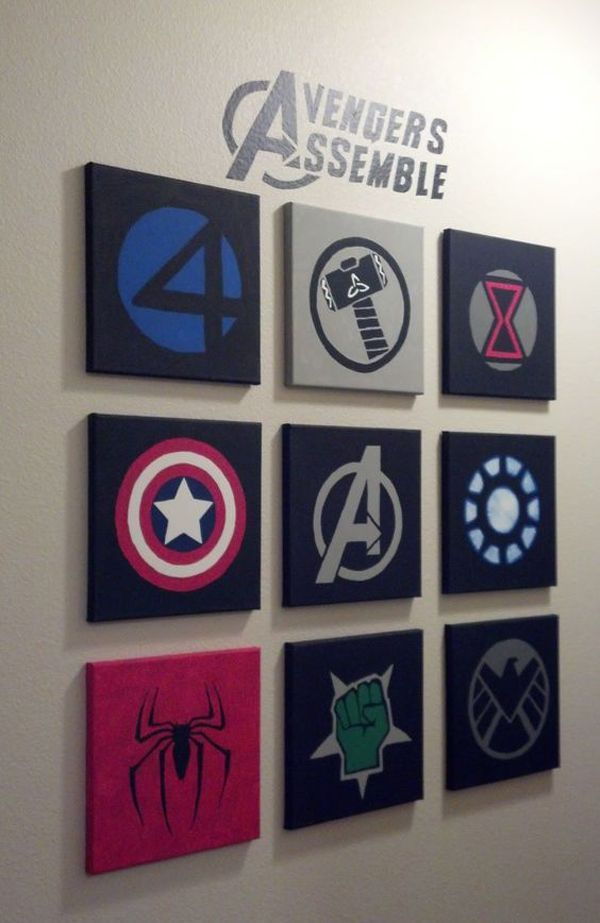 superhero bedroom ideas marvel avengers #marvelavengers