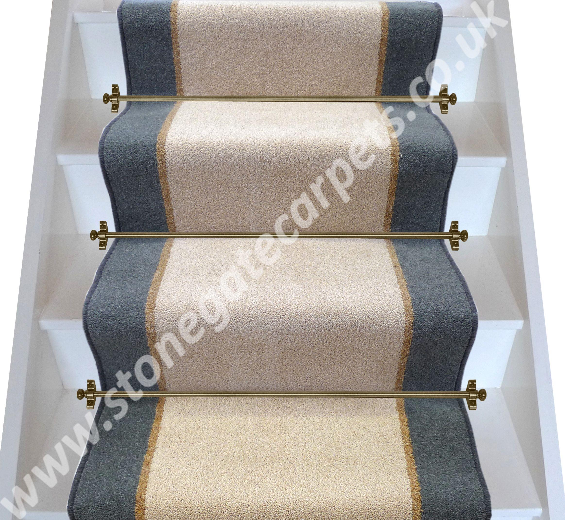 Stair Runner Brintons Moccasin Coffee Smoke Stair Runner Carpet Fitting Beige Carpet
