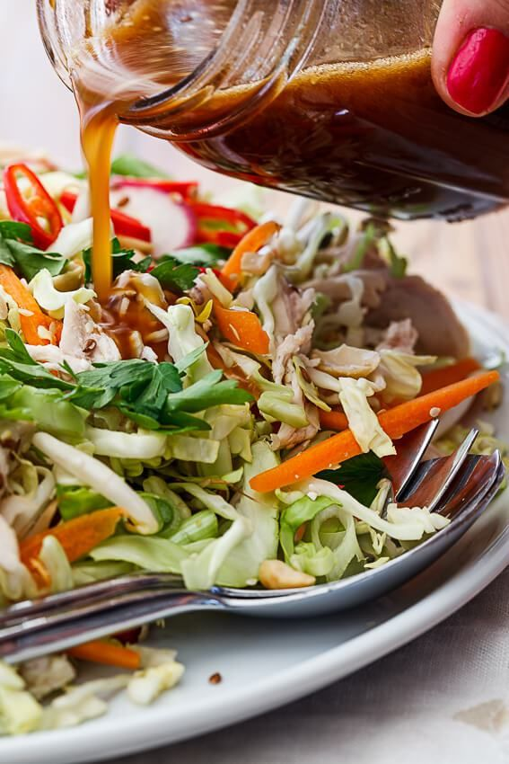 Chinese chicken salad - Simply Delicious