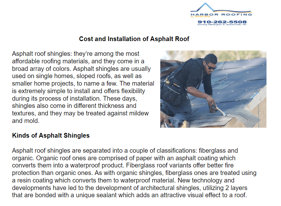 The Material Is Extremely Simple To Install And Offers Flexibility During Its Process Of Installation These Days Sh Roof Cost Asphalt Roof Affordable Roofing
