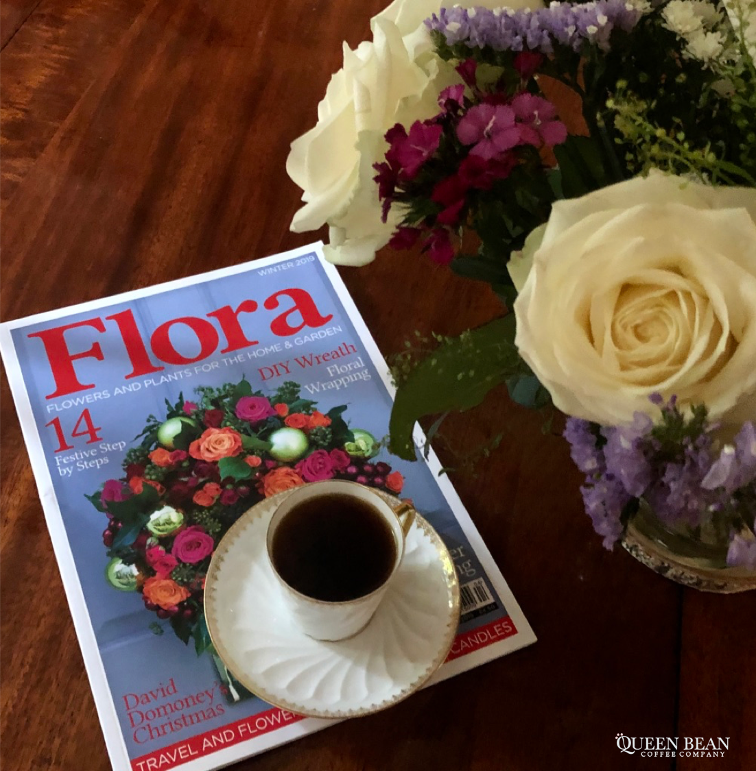 Coffeebreak With A Delightful Read On Wreath Making And A Cup Of Bright Winey Floral Toned Ethiopian Gisu Coffee This Lovely Y Coffee Break Berries Beans