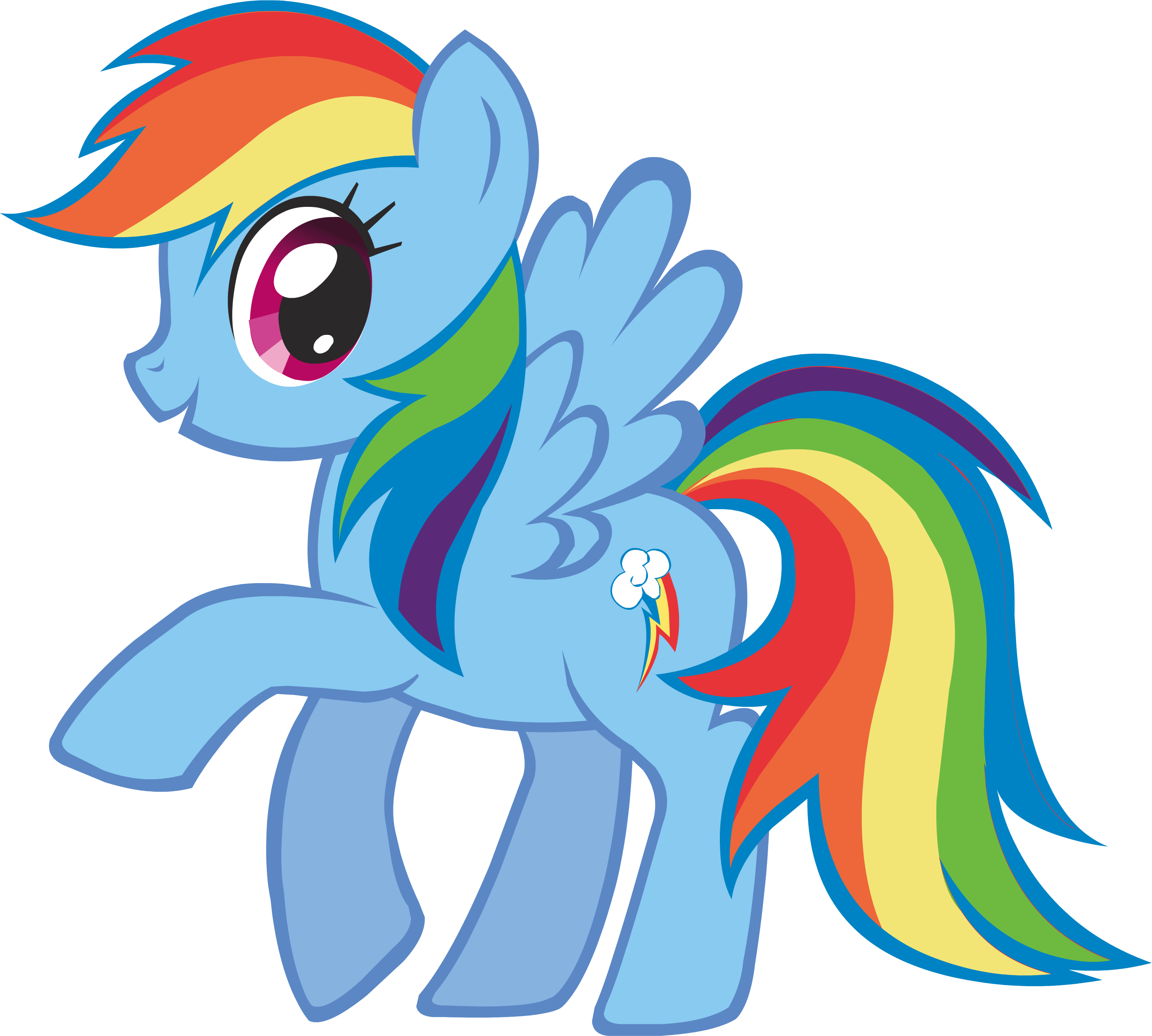 Of rainbow pics dash