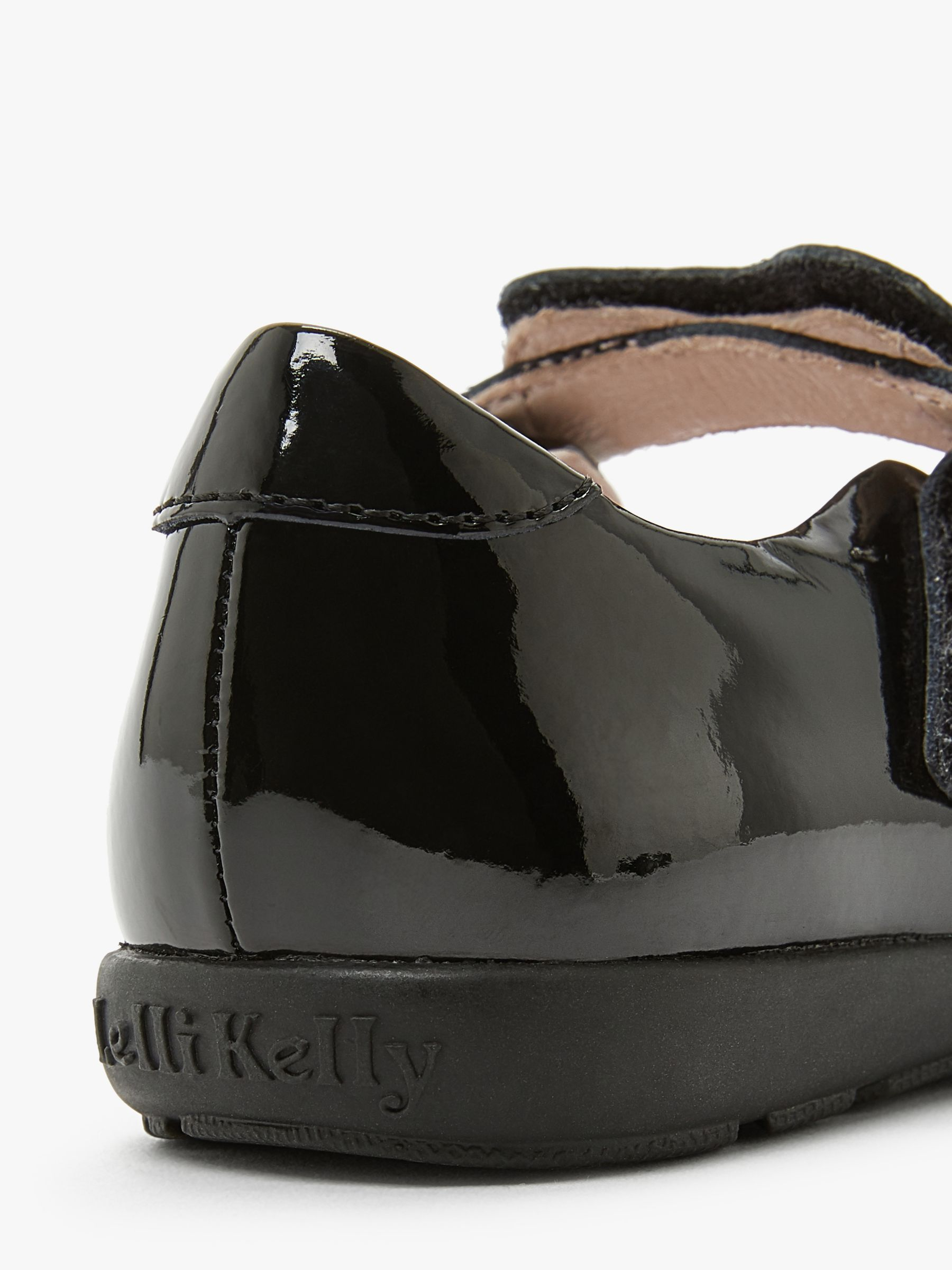 many styles half price lowest discount Lelli Kelly Children's Colourissima Leather School Shoes, Black ...