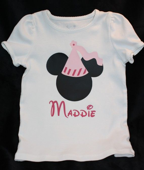Personalized Princess Minnie Mouse Disney iron on by MissMorgan, $7.00