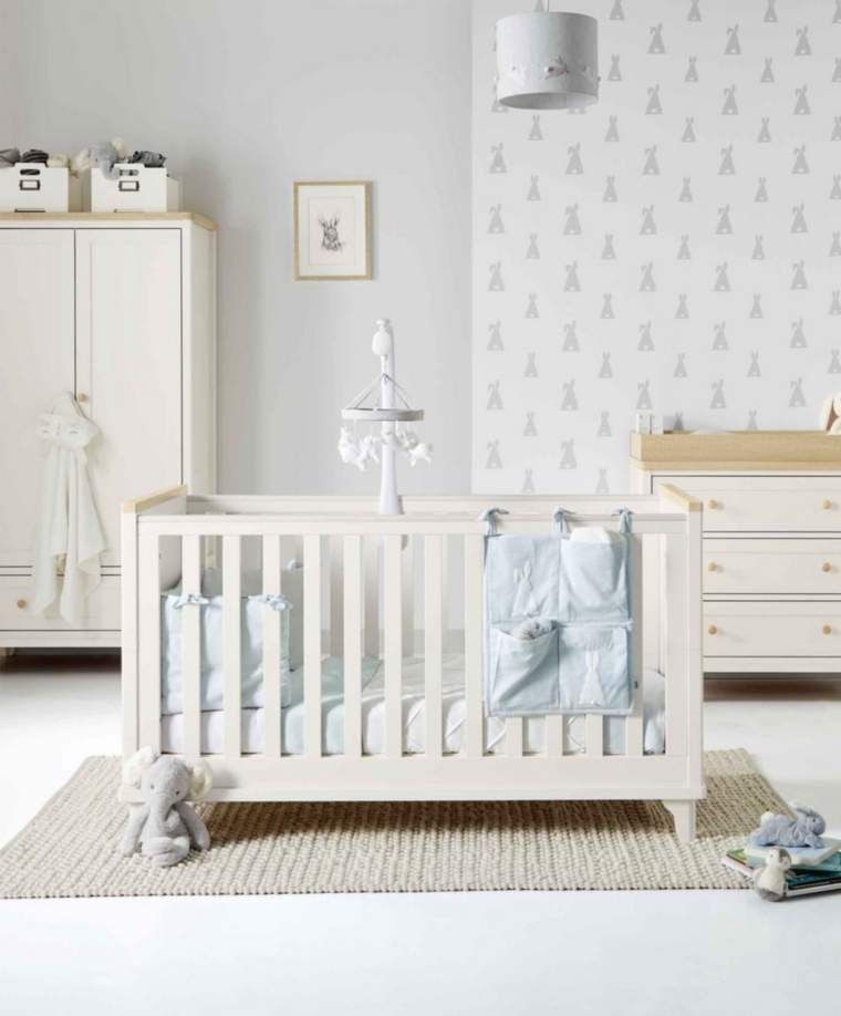 Lucca 3 Piece Nursery Furniture Set With Adjustable Cot To Toddler