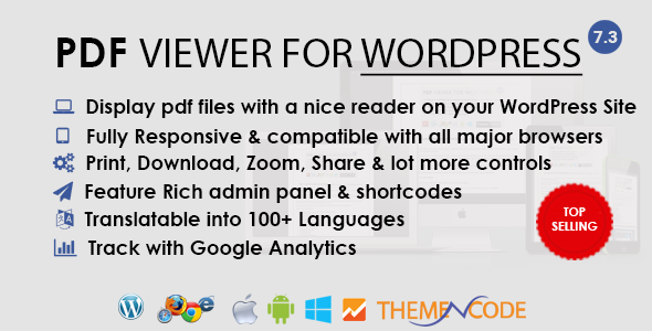 PDF viewer for WordPress | Best Premium WordPress Plugins