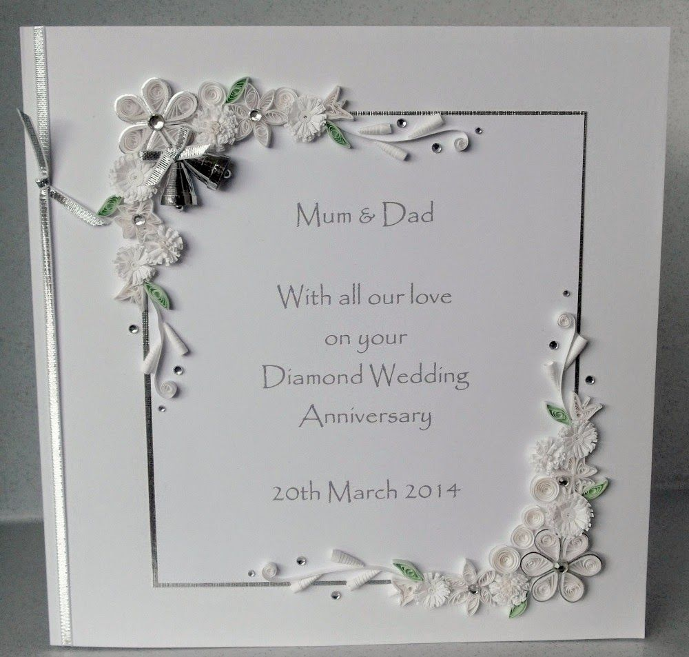 60th anniversary cards for parents