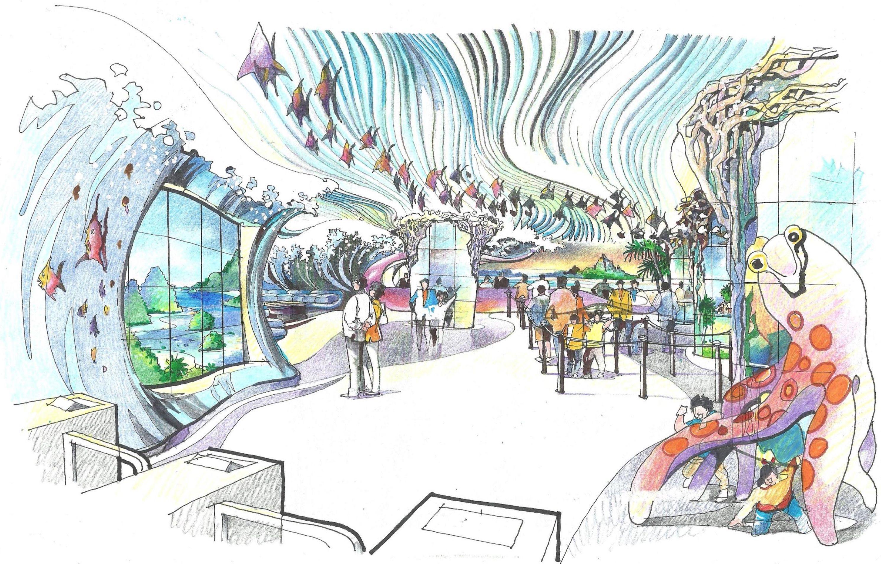 Perculas aquarium design and consultancy oceanarium for Fish store baltimore