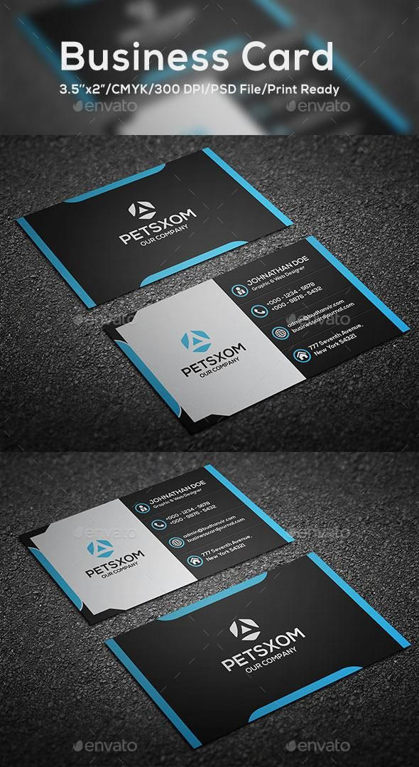 Modern Business Card Vol. I  #template #creative #business
