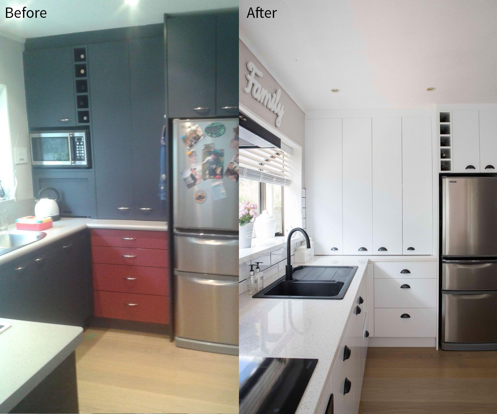 A cramped 1980s kitchen gets a $14,000 makeover   Kitchen ...