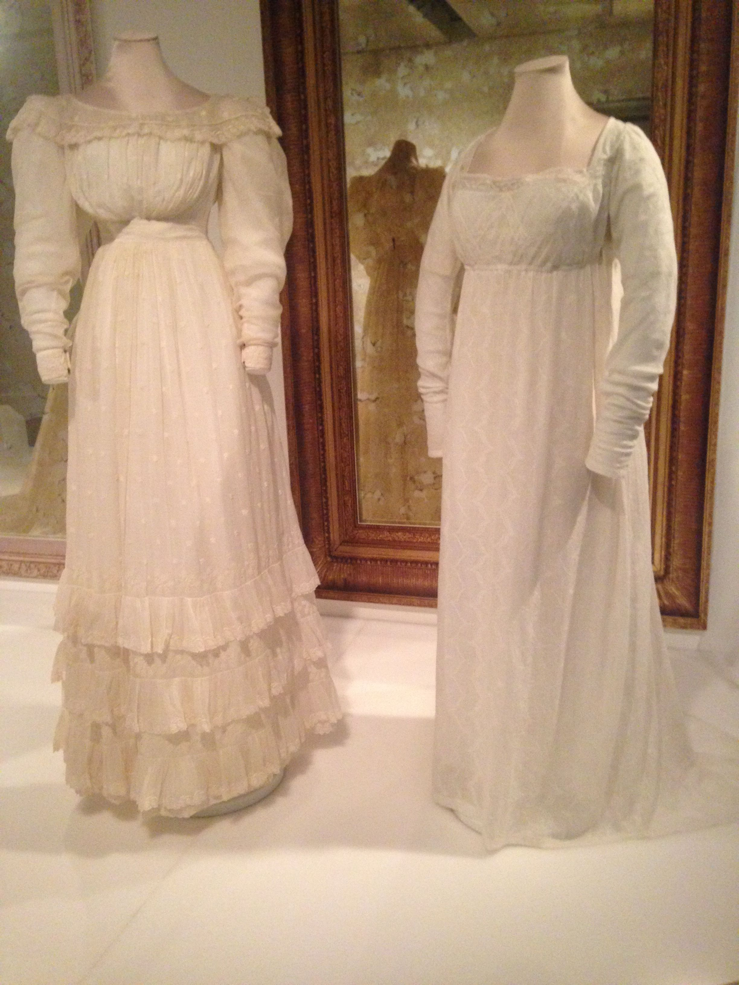Exhibition of Victorian Clothing.