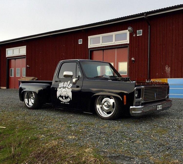 Deep Dish 87 Chevy Truck Chevy Trucks Trucks