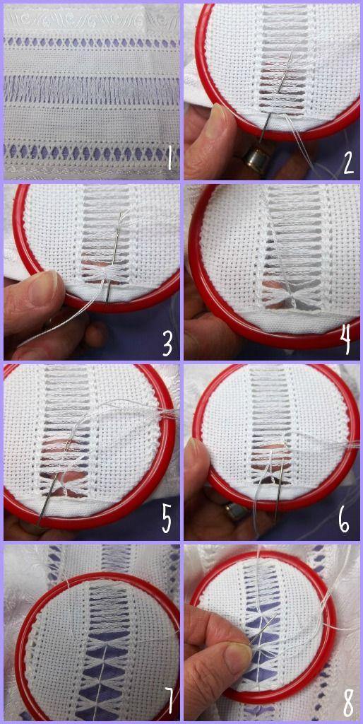 Lavanda e Lillà doet het duidelijk voor. Zo maak je een knoop die minder makkelijk verschuift. Hierbij werk je dus van links naar rechts, in tegenstelling tot de koraalknoop, die van rechts naar links wordt gemaakt.