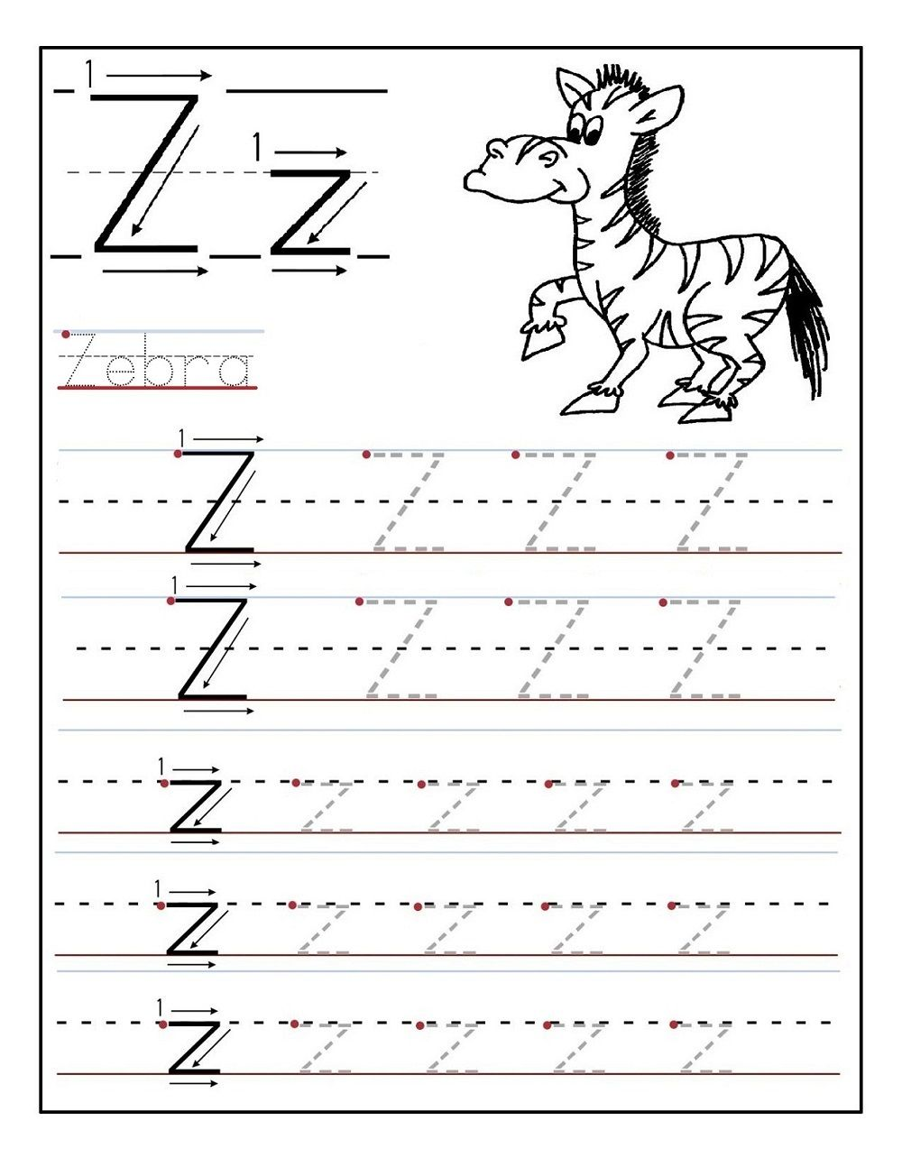 Tracing Worksheets 3 Year Old Fun Kiddo Shelter   Alphabet worksheets  preschool [ 1294 x 1000 Pixel ]