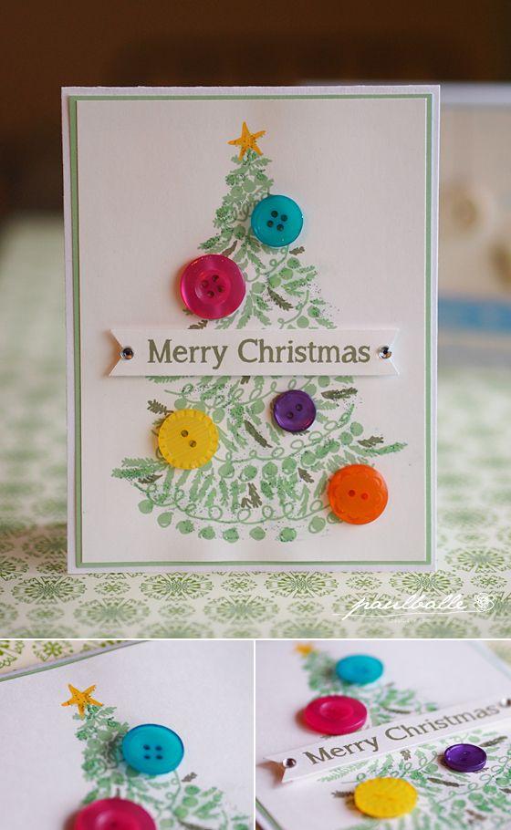 無料ダウンロード ボタンを貼るだけクリスマスカードを