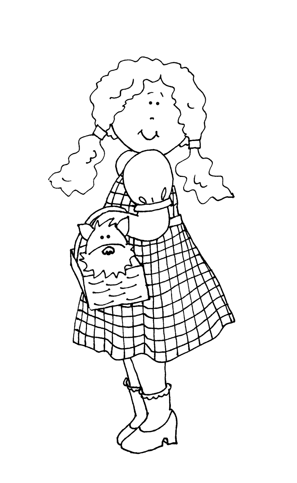Free Dearie Dolls Digi Stamps From The Wizard of Oz. jwt   Digi ...