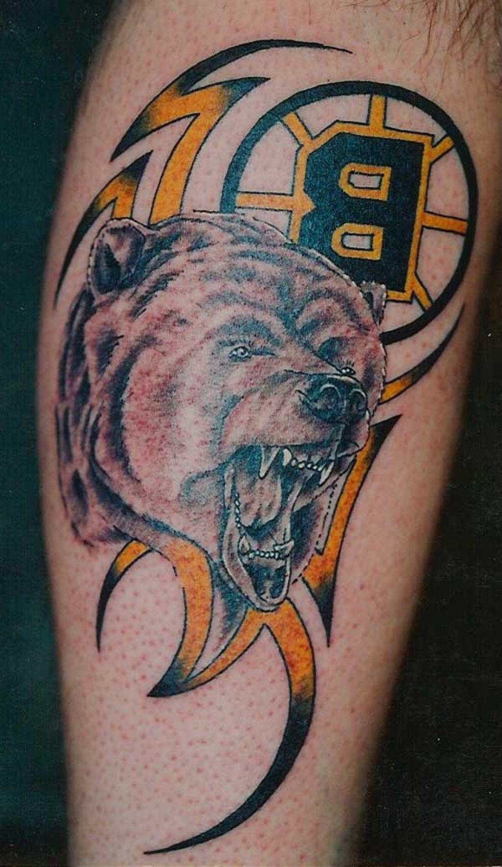 Boston Bruins Tattoos Boston bruins logo, Sport tattoos