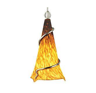 Tech Lighting Ovation Pendant-Tahoe Pine Amber