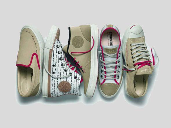 Coleção de tênis da Converse lançada em homenagem a Oscar Niemeyer