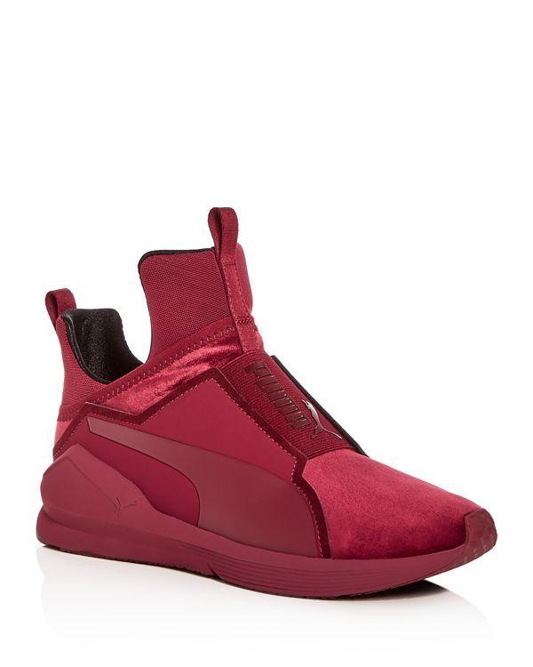 Puma Fierce Velvet Slip-On Sneakers rYrnwGc5u