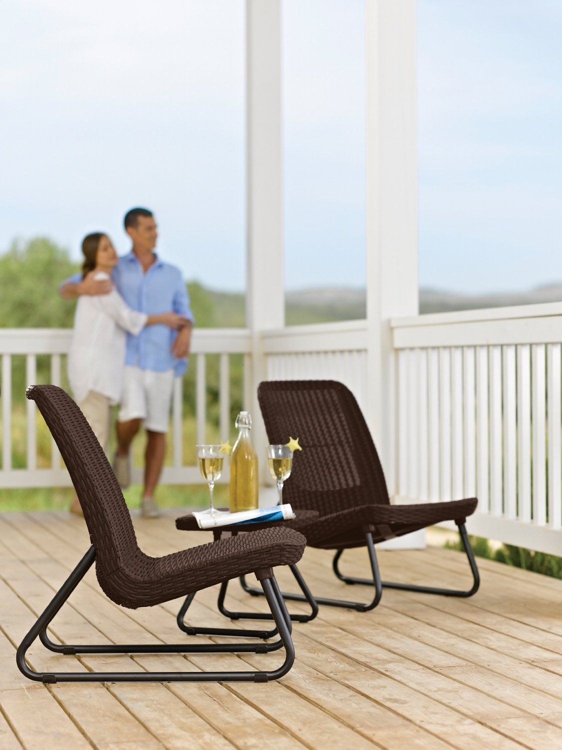 The Best Wicker Furniture For Your Outdoor Patio Keter Rio 3 Pc