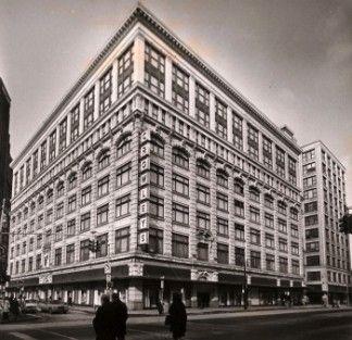 Crowley's Department Store, Detroit, 1910.