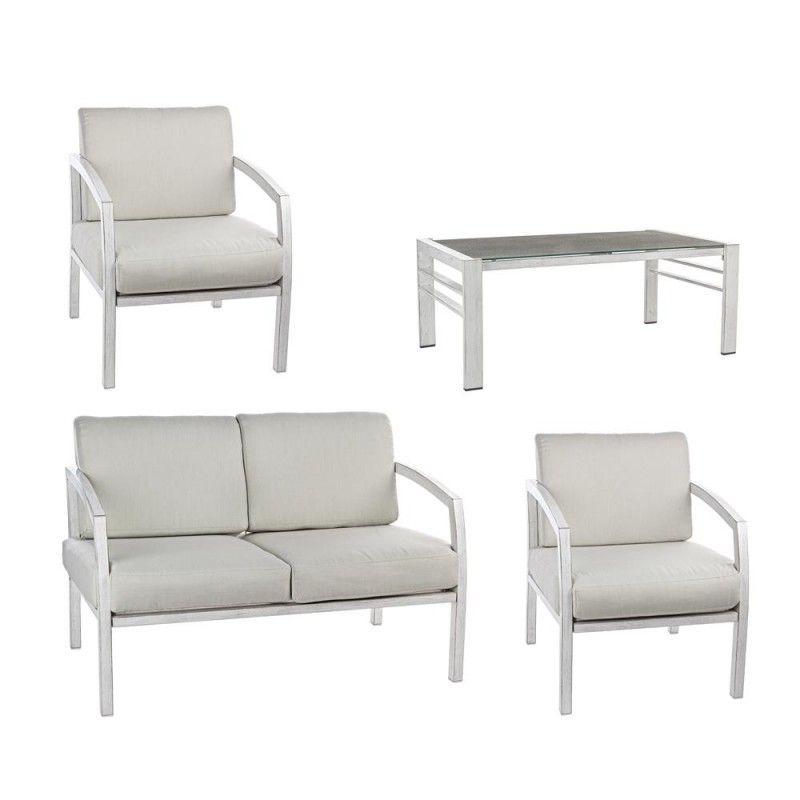 Nils 4er Sitzgruppe m. Kissen Jetzt bestellen unter: https://moebel.ladendirekt.de/garten/gartenmoebel/loungemoebel-garten/?uid=52a08cee-d2bd-530b-ba62-2602b6c1d129&utm_source=pinterest&utm_medium=pin&utm_campaign=boards #loungemoebelgarten #garten #gartenmoebel