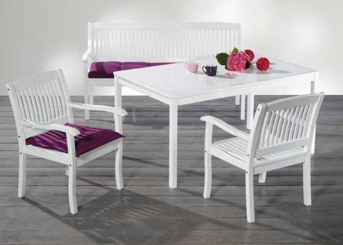 Gartenmöbel Weiß Holz Set ~ Sitzgruppe gartengarnitur gartenmÖbel set cordoba klappbar
