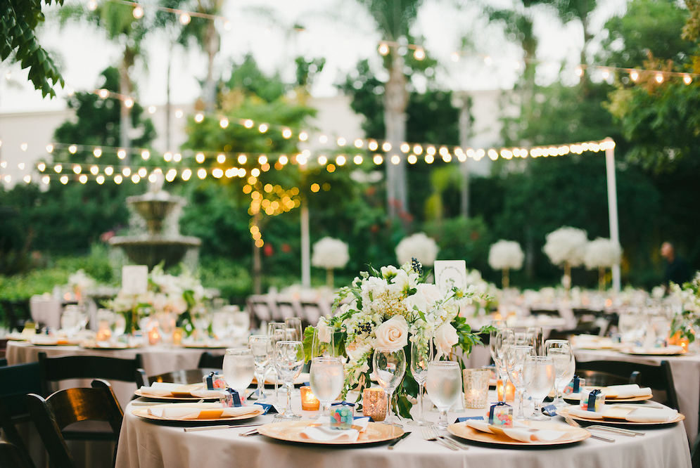 Los Angeles Romantic Garden Wedding Wedding Los Angeles River