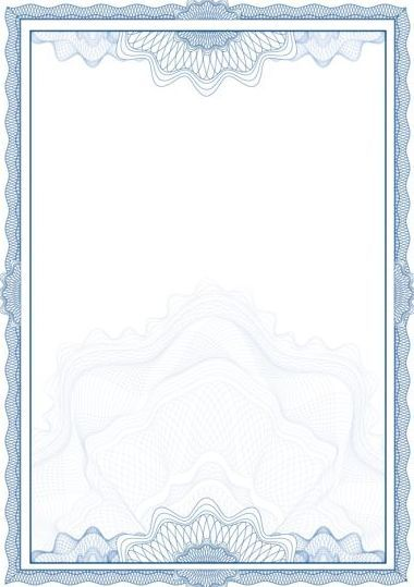 Elegant diploma with certifikate frame vector 05 Backgrounds - certificate borders free download