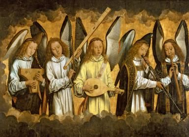 Band of Angels - Hans Memling / Getty Images