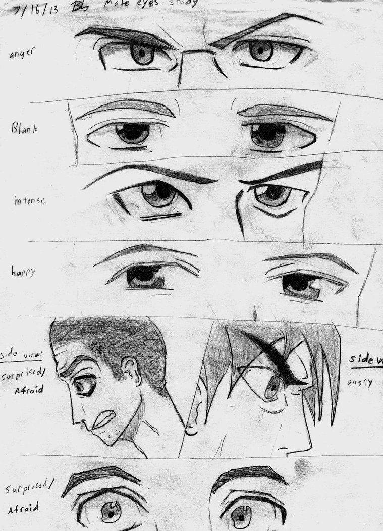 Male Anime Eyes by DivergentFOUNDRY on DeviantArt Anime