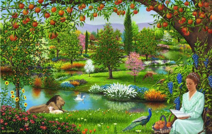 Où était situé le Jardin d'Eden ? (Paradis Terrestre ...