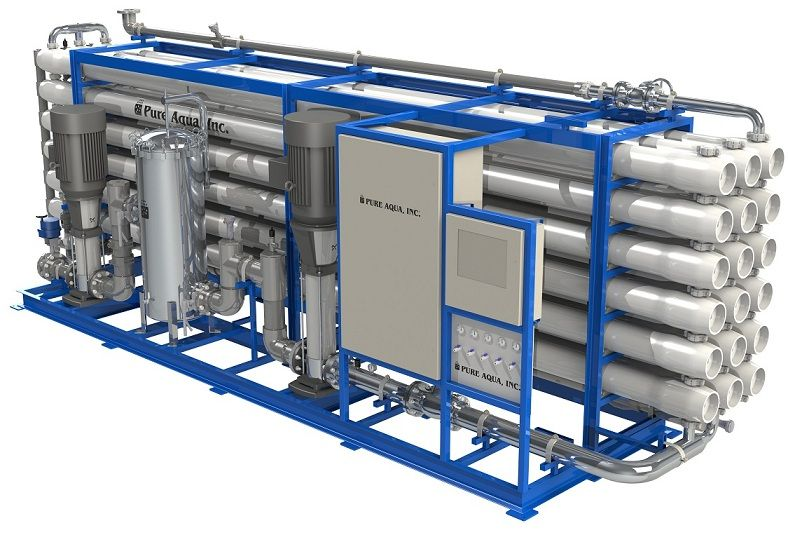 What Is Reverse Osmosis For Industrial Commercial Ro Systems Reverse Osmosis Osmosis Reverse Osmosis System