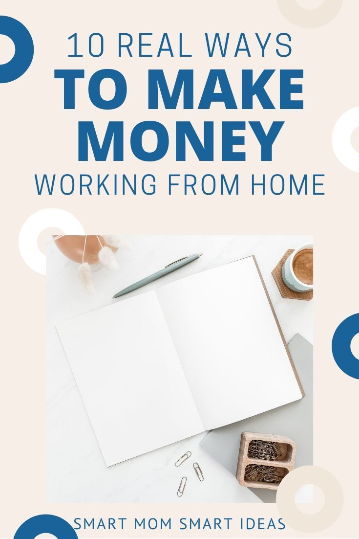 10 Ways to Earn $500/Month From Home