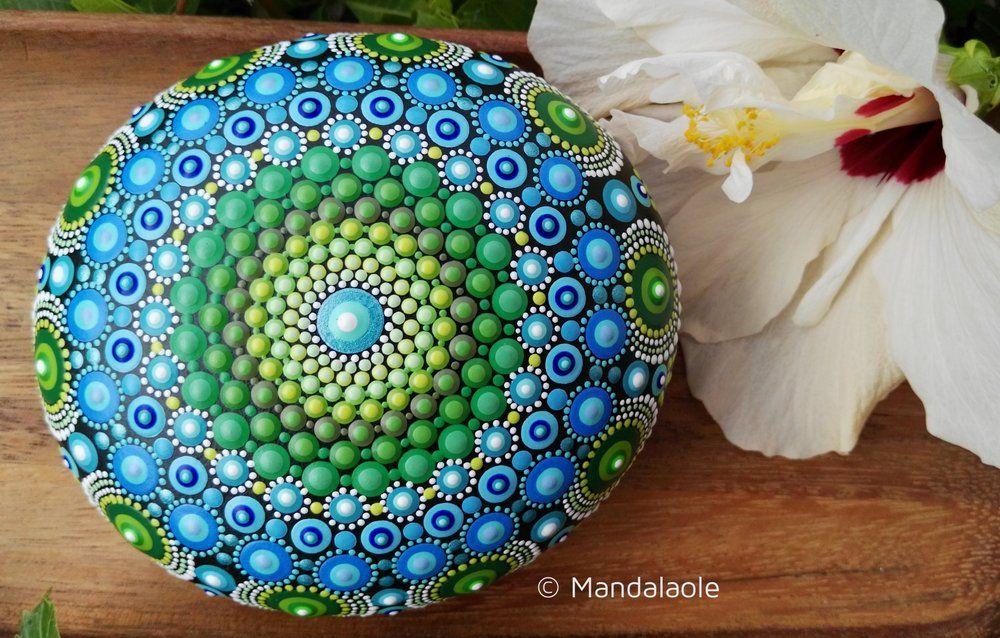 Image of The Elements: Earth Mandala stone