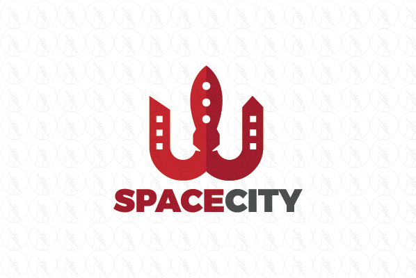 Space City - $199 (negotiable) http://www.stronglogos.com/product/space-city #logo #design #sale #space #city #buildings #real #estate #modern #houses #builder