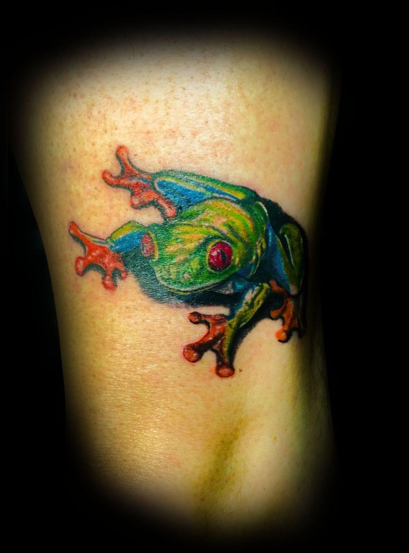 Tree Frog Tattoo Artist David Gordon Shop High Rise Tattoo