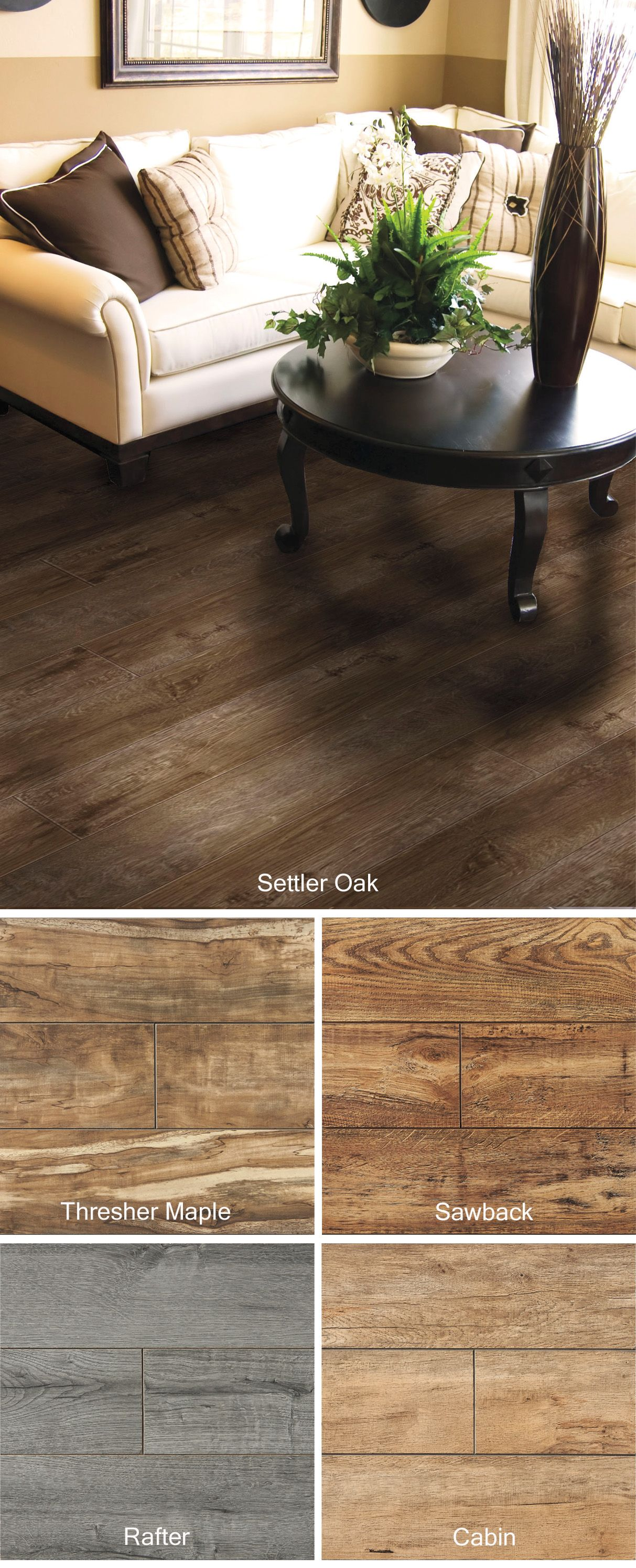 This Beautiful Heritage Settler Oak Laminate Flooring Is Natural