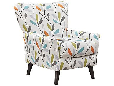 Best Emery Floral Accent Chair Large Accent Chairs For 400 x 300
