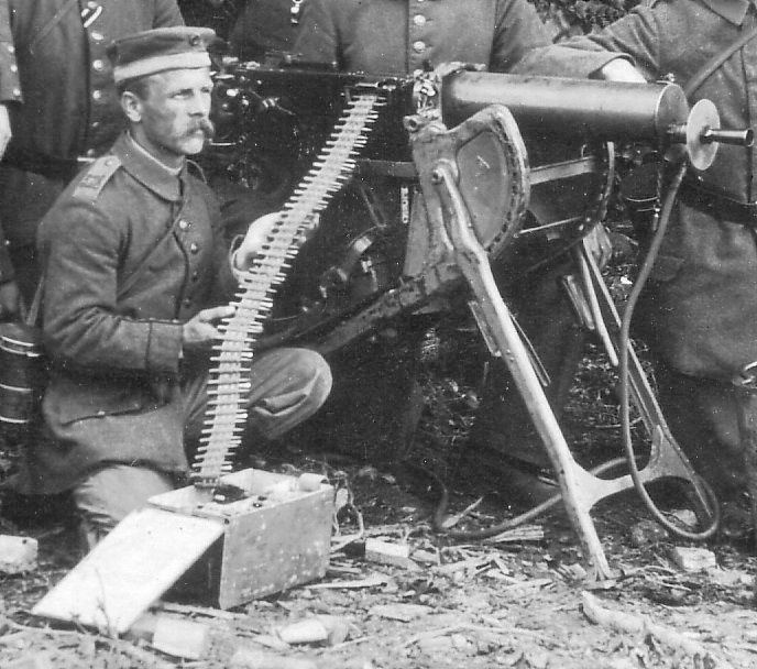 German MG 08 heavy machine gun | 1914 - 1918 | Guns, World