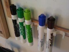 Dry Erase Maker Holder By Cyancdesign Thingiverse Dry Erase Marker Holder Dry Erase Marker Storage