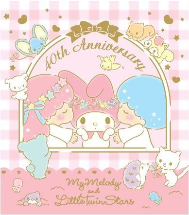 Lets Celebrate Our Birthday Together My Melody And Little Twin