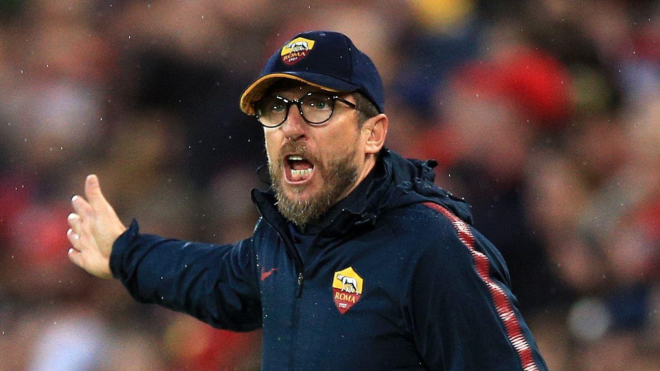 As roma * sep 8, 1969 in pescara, italy Roma Coach Eusebio Di Francesco Hoping For Another Champions League Miracle Eusebio Champions League Coach