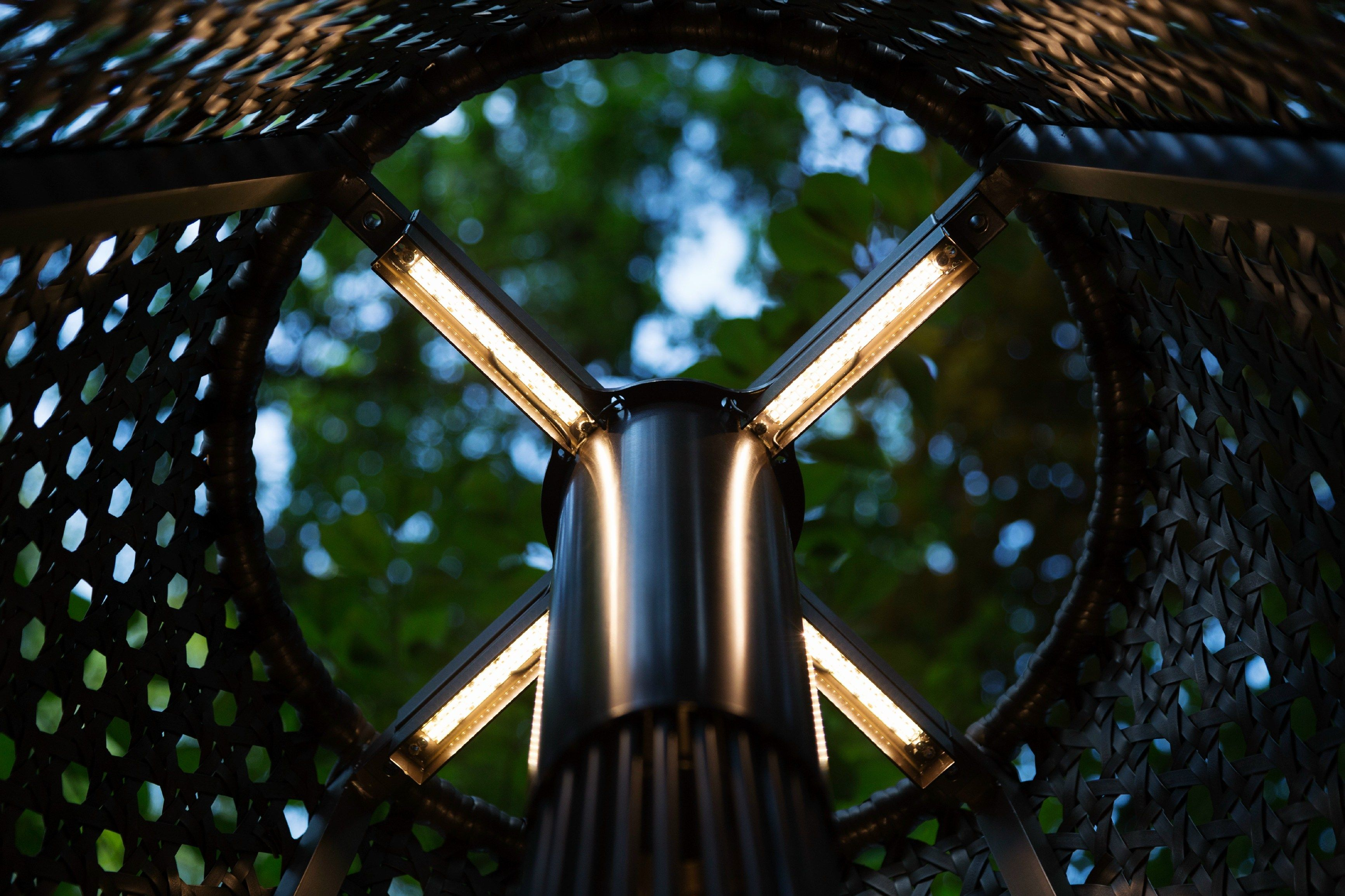 SOLE Garden lamp post by Samuele Mazza Outdoor Collection by DFN design Samuele Mazza